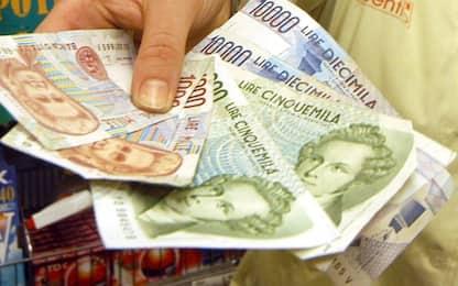 Cambio lire in euro, ancora oggi migliaia di famiglie in attesa