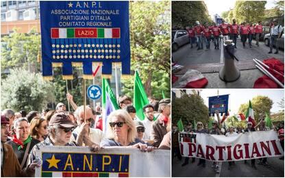25 aprile, corteo Anpi a Roma