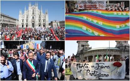 25 aprile, Milano celebra la Liberazione