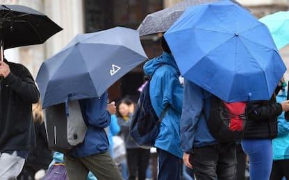 Maltempo in Piemonte, pioggia e forte vento nell'Alessandrino