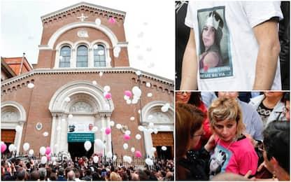 A Roma i funerali di Pamela