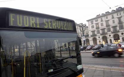Sciopero dei mezzi pubblici a Torino, orari e linee interessate