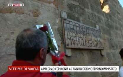 Cinisi ricorda Peppino Impastato a 40 anni dall'omicidio di mafia