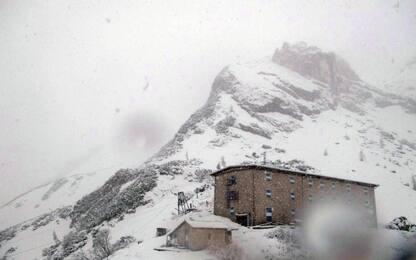 La neve sorprende Dolomiti e Terminillo