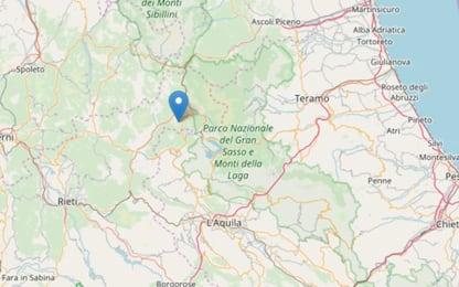 Scossa di terremoto nel Reatino, epicentro a 5 km da Amatrice