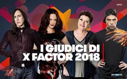 X Factor 2018, la giuria: Asia Argento, Fedez, Agnelli e Mara Maionchi