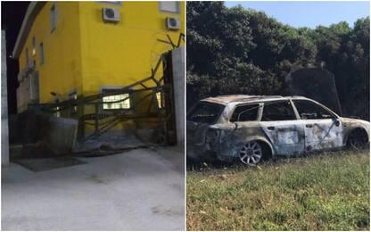 Fallita rapina milionaria a Sassari, ritrovate bruciate auto commando