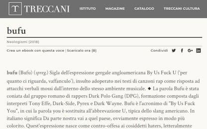 """""""Bufu"""", il neologismo della Dark Polo Gang entra nella Treccani"""
