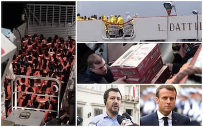Aquarius: Macron non si scusa, Conte orientato a rinviare il vertice