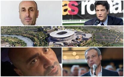 Stadio della Roma, ecco chi sono i protagonisti dell'inchiesta