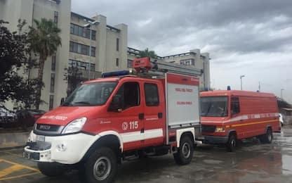 Incendio nello stabilimento Coca Cola a Marcianise: aria irrespirabile