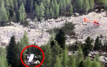 Aereo da turismo cade in Trentino, un morto e un ferito grave