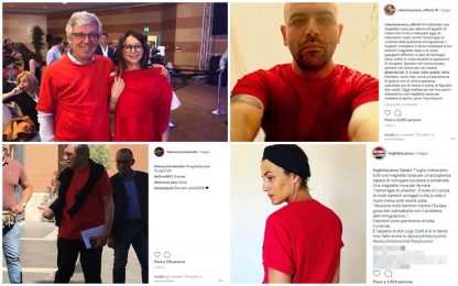 Magliette rosse