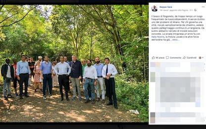 """Milano, Sala nel bosco della droga a Rogoredo: """"Soluzioni concrete"""""""