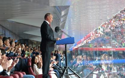 Mondiali, atto finale: tanti i leader a Mosca per Francia-Croazia