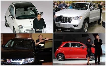 Panda, 500, Jeep: le auto dell'era Marchionne alla guida di Fca