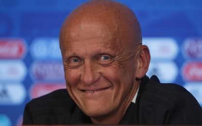 Uefa, Collina si dimette da designatore arbitri. Al suo posto Rosetti