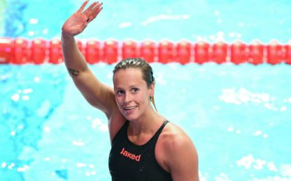 Federica Pellegrini conquista la 50esima medaglia della carriera