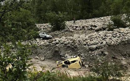 Frana in Val Ferret, centinaia di evacuati. Morti moglie e marito