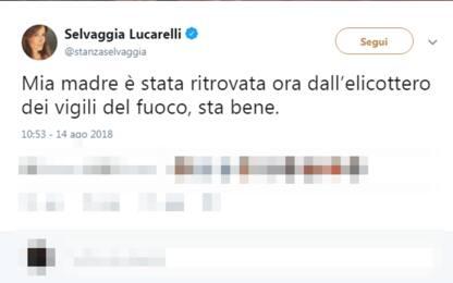 """Ritrovata la mamma di Selvaggia Lucarelli: """"Sta bene, grazie a tutti"""""""