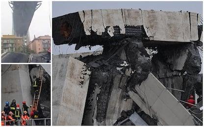 Crollo ponte Morandi a Genova