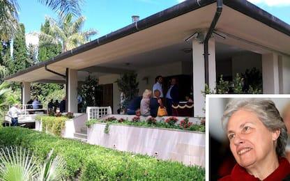 Rita Borsellino, la camera ardente in una villa confiscata alla mafia