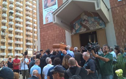 Palermo saluta Rita Borsellino, chiesa gremita per il funerale