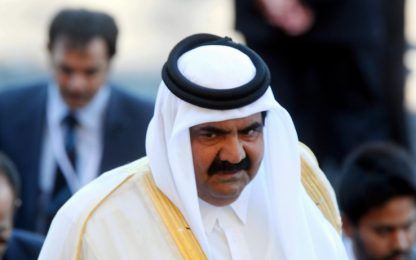 Brindisi, l'emiro del Qatar torna a far visita a nonna Teresa