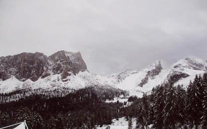 Nevicate a Cortina e sulle Dolomiti
