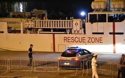Nave Diciotti, convalidati gli arresti dei 4 presunti scafisti