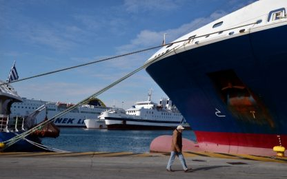 Sciopero dei traghetti in Grecia: bloccati migliaia di turisti