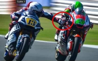 Follia Fenati in Moto2 a Misano: tira il freno al rivale a 200 km/h