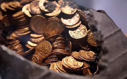 Monete d'oro romane ritrovate a Como