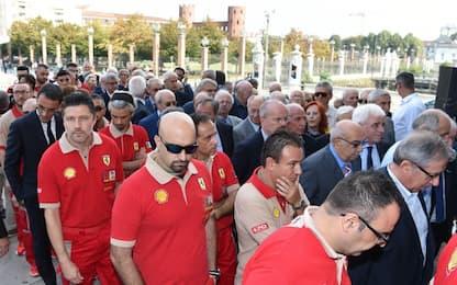 Torino ricorda Sergio Marchionne. FOTO