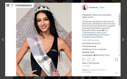 Chiara Bordi, candidata miss Italia disabile, insultata sui social