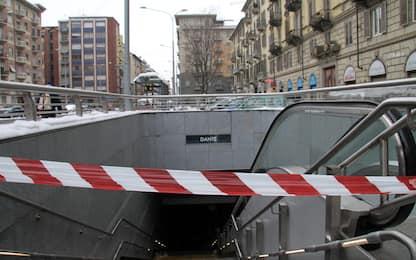 Torino, metropolitana in funzione dopo uno stop di oltre tre ore