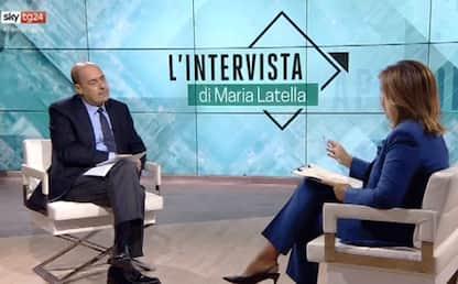"""Zingaretti (Pd) a Sky tg24: """"Con la manovra governo tradisce elettori"""""""