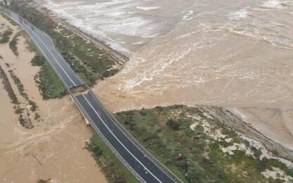 Maltempo in Sardegna, crollano due ponti tra Cagliari e Capoterra
