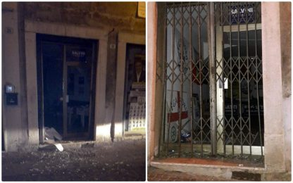 Trentino, bomba carta contro sede Lega prima del comizio di Salvini