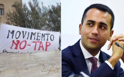 "Tap, Di Maio: ""Opera non strategica, ma è blindata"""