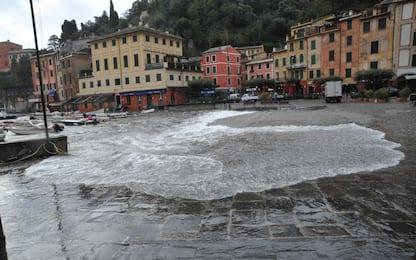 Maltempo, Portofino isolata. Sindaco: strada provinciale non c'è più