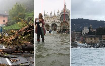 Maltempo, 4 morti al Nord. Allerta rossa in Veneto, Portofino isolata