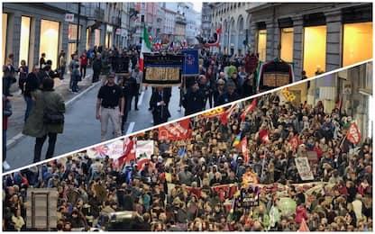 Trieste blindata, cortei CasaPound e antifascisti per il 4 novembre