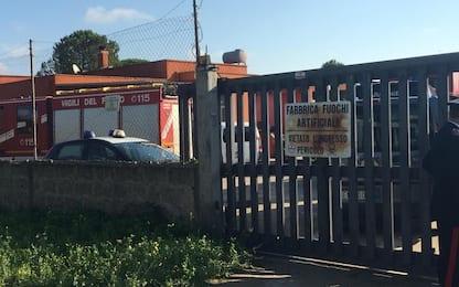 Esplode fabbrica di fuochi d'artificio in provincia di Lecce: un morto