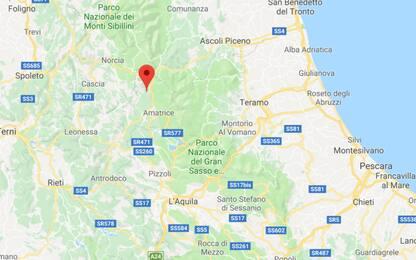 Terremoto nel Reatino, nella notte scossa di magnitudo 3.0