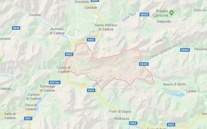 Terremoto sulle Dolomiti in provincia di Belluno: scossa di 2.9