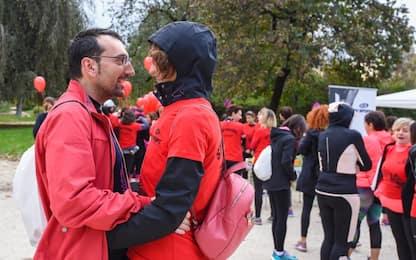 Milano, la corsa anti violenza sulle donne. FOTO