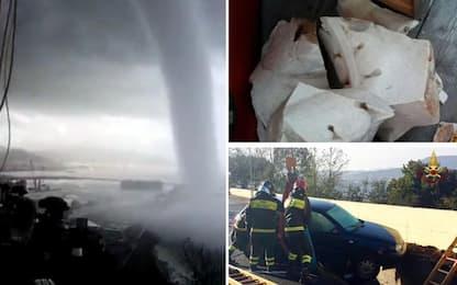 Maltempo Italia: neve al Nord, nubifragi e trombe d'aria al Sud