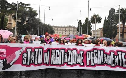 Roma, manifestazione nazionale contro violenza sulle donne