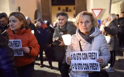 Ladro ucciso, in migliaia alla fiaccolata per Fredy Pacini